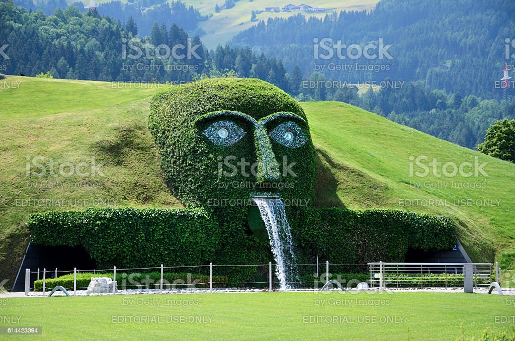 Swarovski Crystal Worlds, Austria stock photo