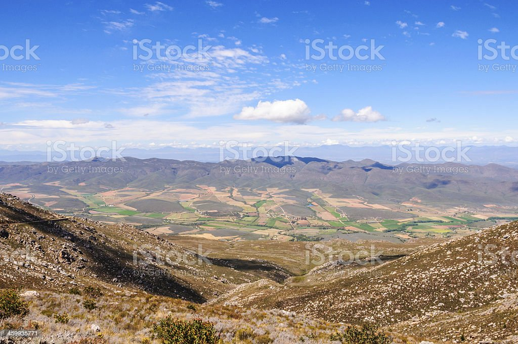 Swartberg Pass - Great Karoo, South Africa stock photo