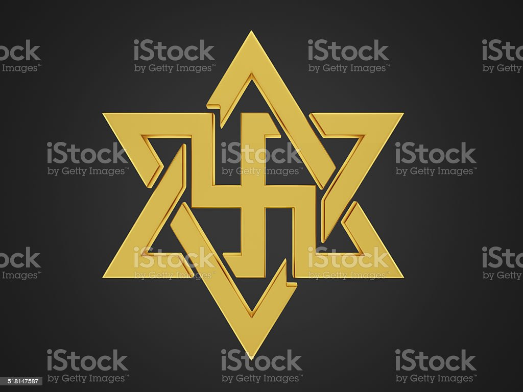 Swastika stock photo