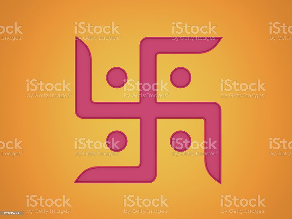 Swastika Symbol stock photo