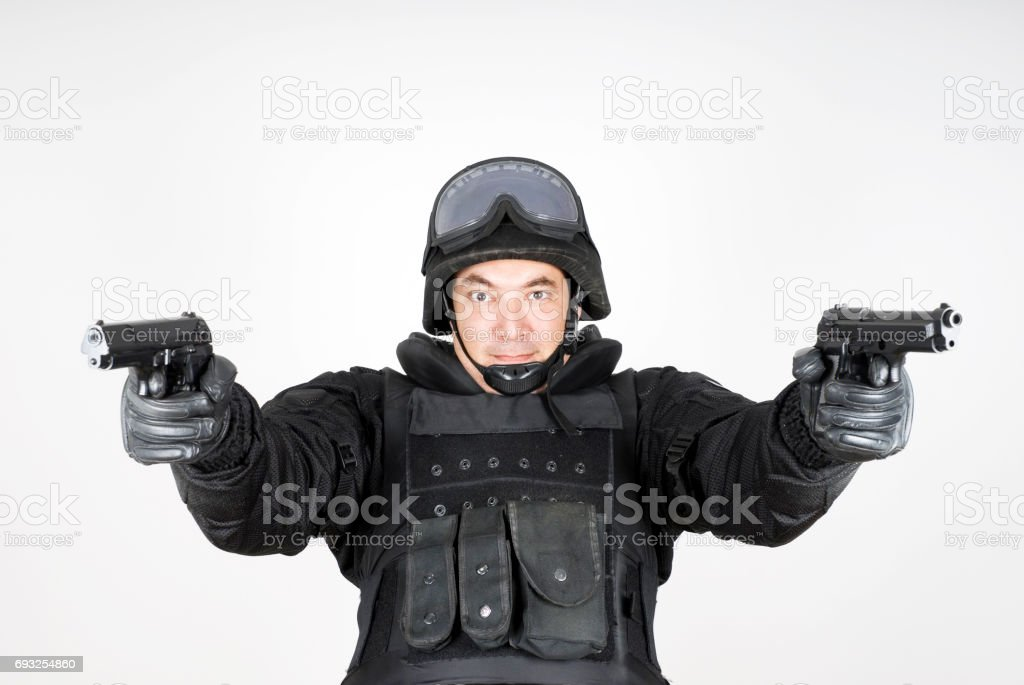 Swat Officer stock photo