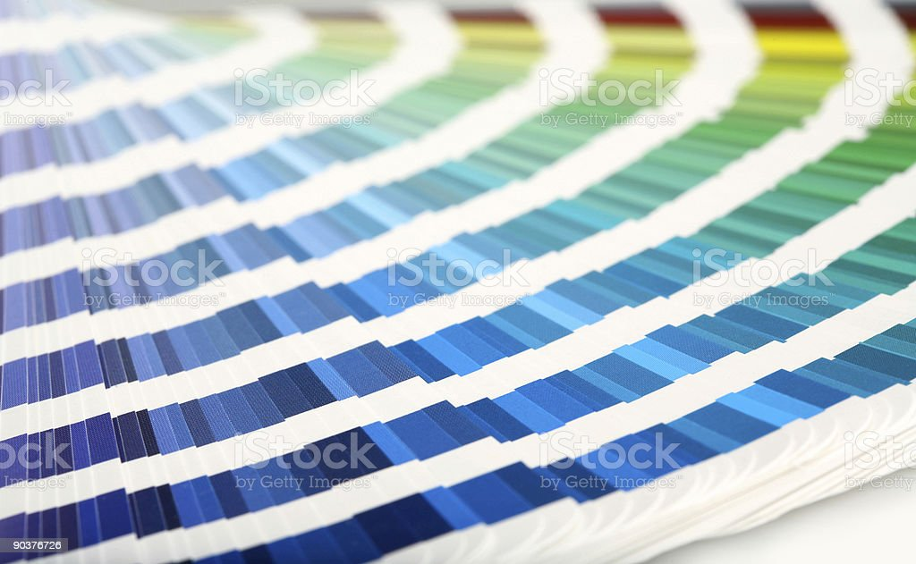 Swatch Book stock photo