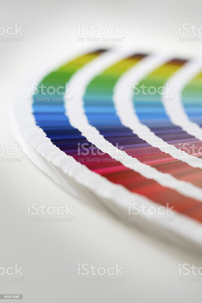 CMYK swatches royalty-free stock photo