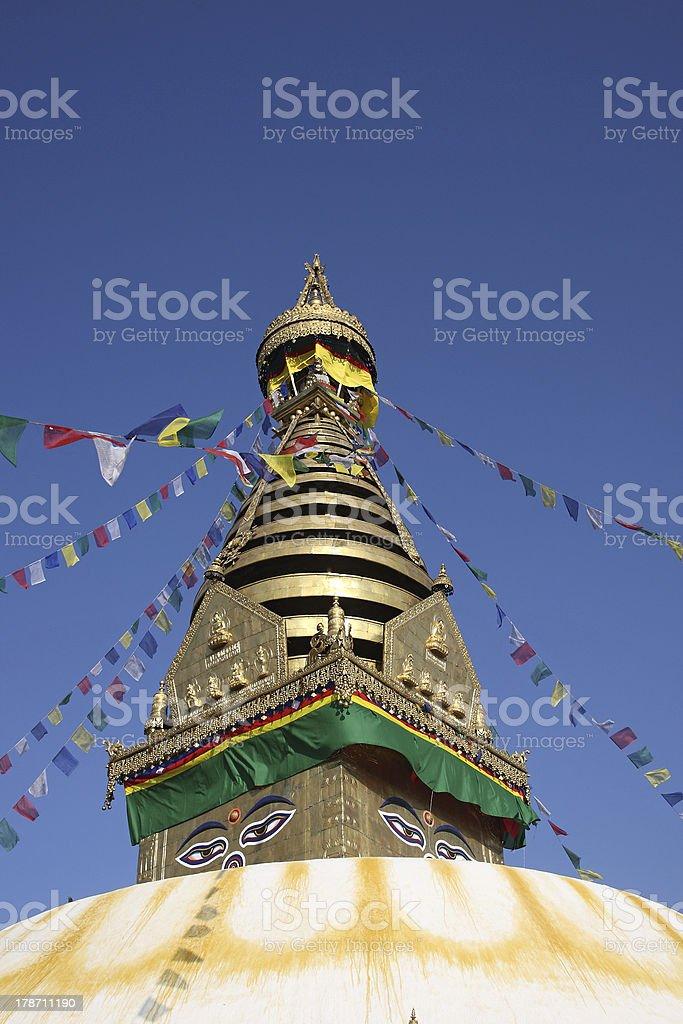Swayambhu, Kathmandu, Nepal. royalty-free stock photo