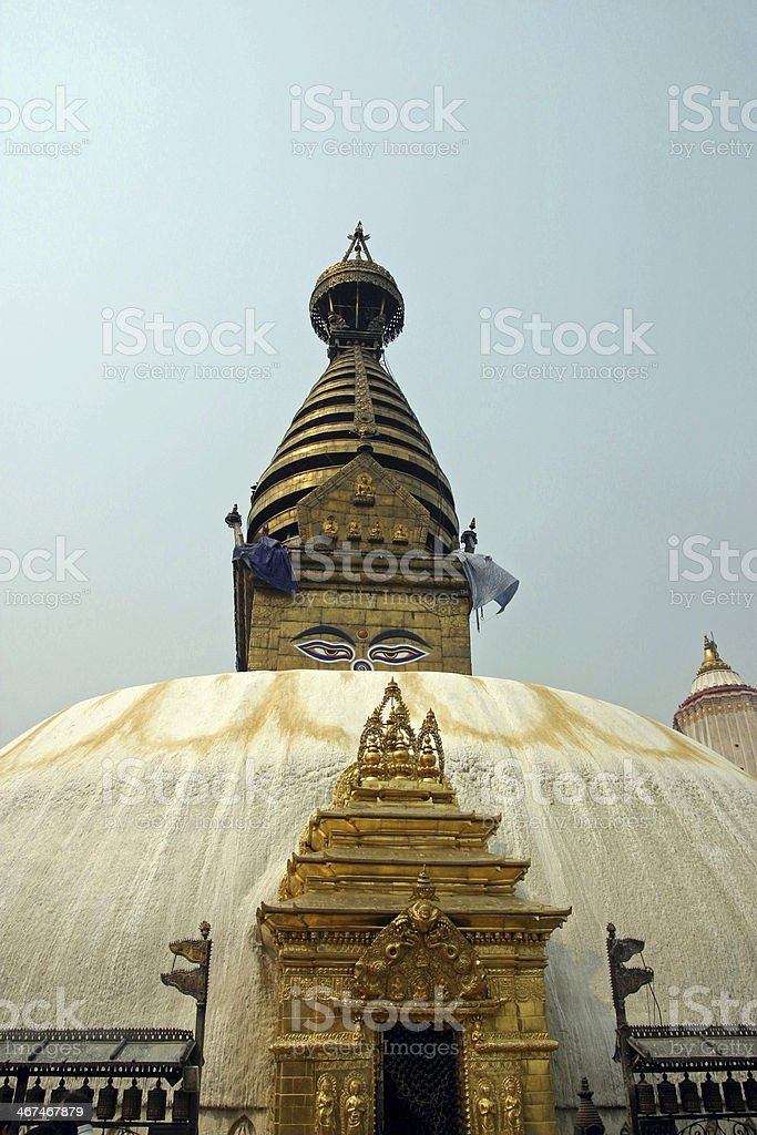 Swayambhunath in Kathmandu, Nepal royalty-free stock photo