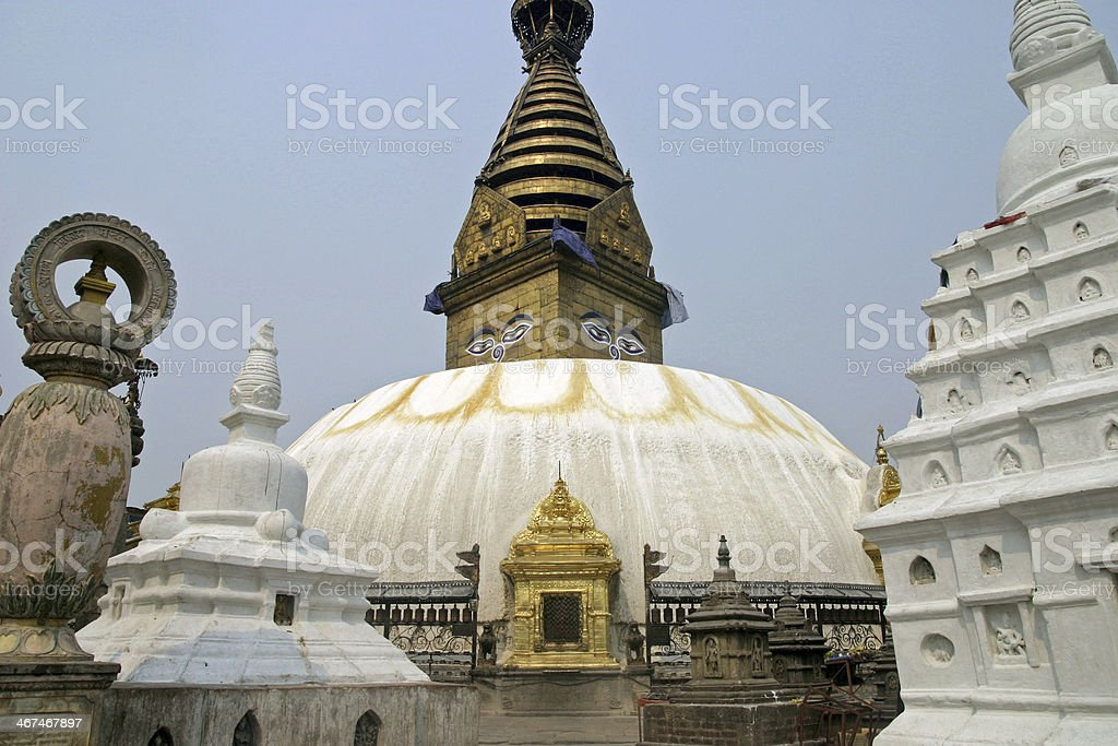 Swayambhunath in Kathmandu, Nepal royalty-free stock photo