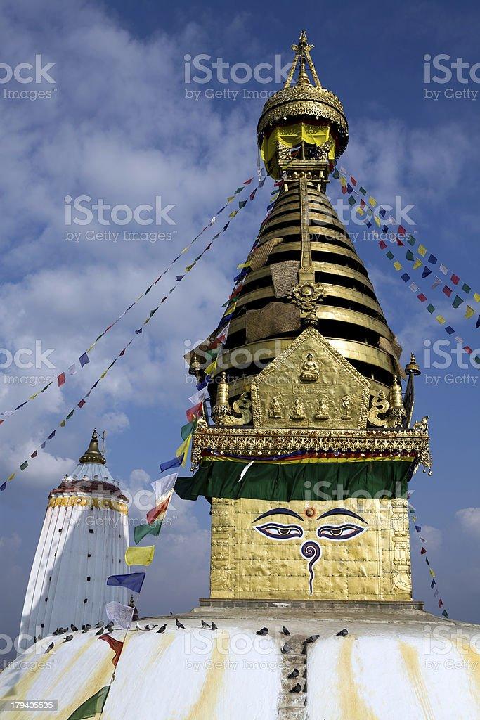 Swayambhunath Kathmandu Nepal royalty-free stock photo