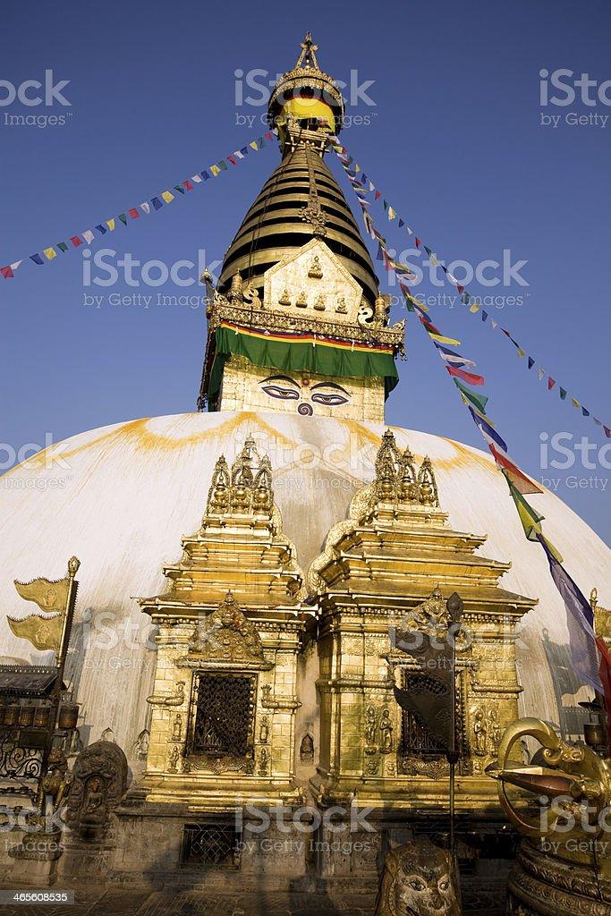 Swayambhunath royalty-free stock photo
