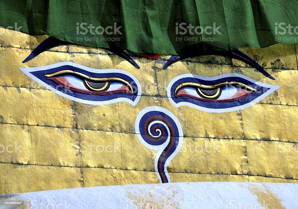 Swayambhunath stock photo