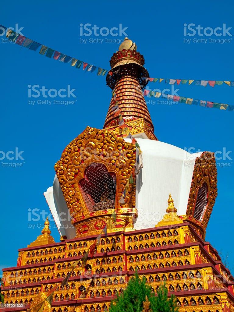 Swayambhunath Temple in Kathmandu. royalty-free stock photo