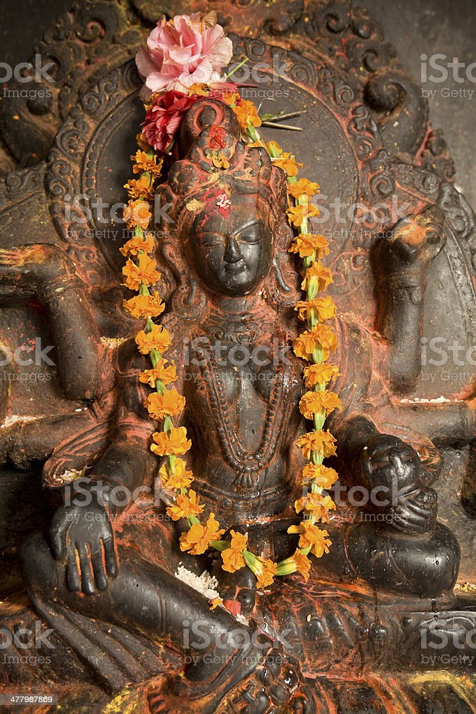 Swayambhunath Temple Nepal royalty-free stock photo