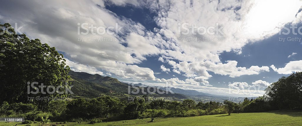 Swaziland panorama II stock photo