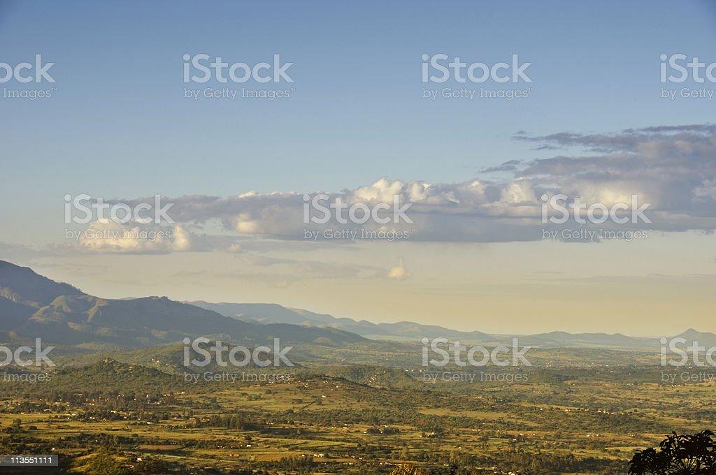 Swaziland panorama stock photo