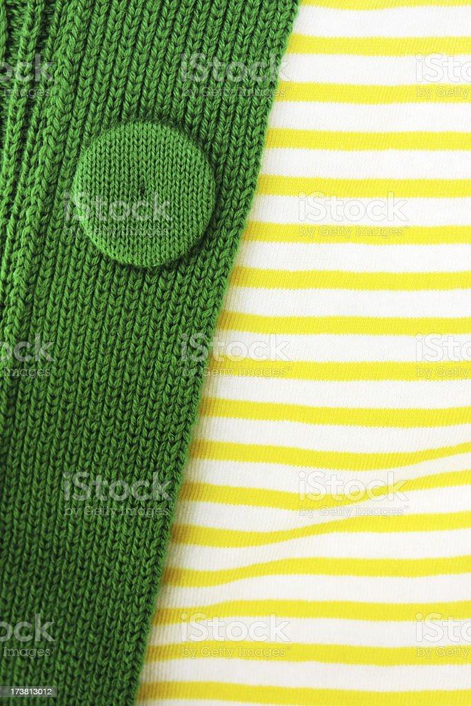 Sweater Button Stripe Shirt Clothing Fashion royalty-free stock photo