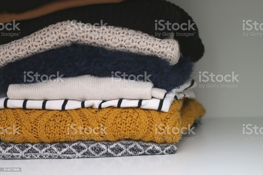 Sweater stock photo