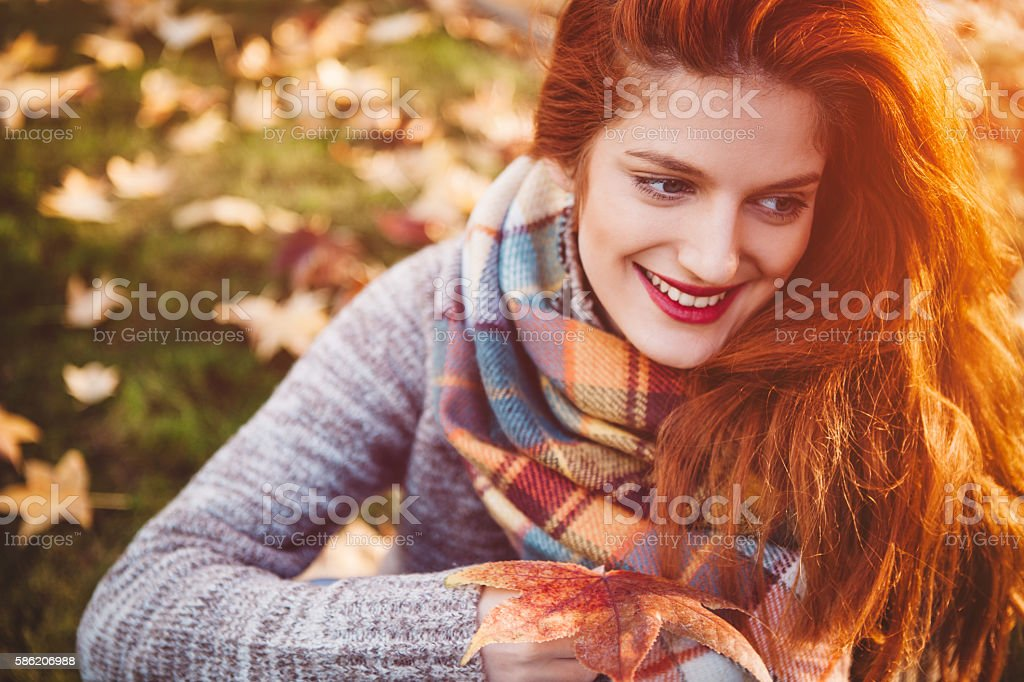 Sweater  weather stock photo