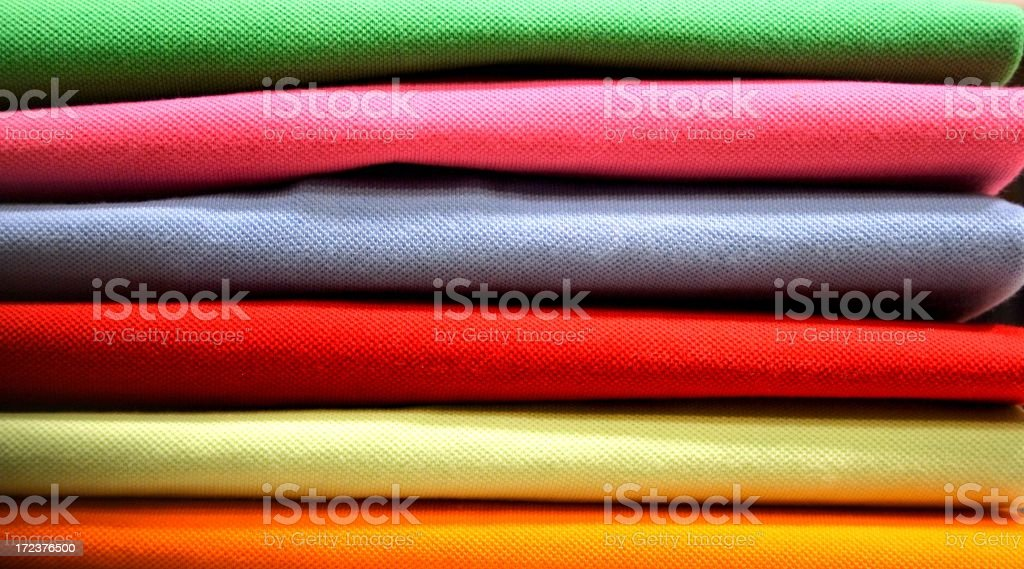 sweaters in the closet royalty-free stock photo