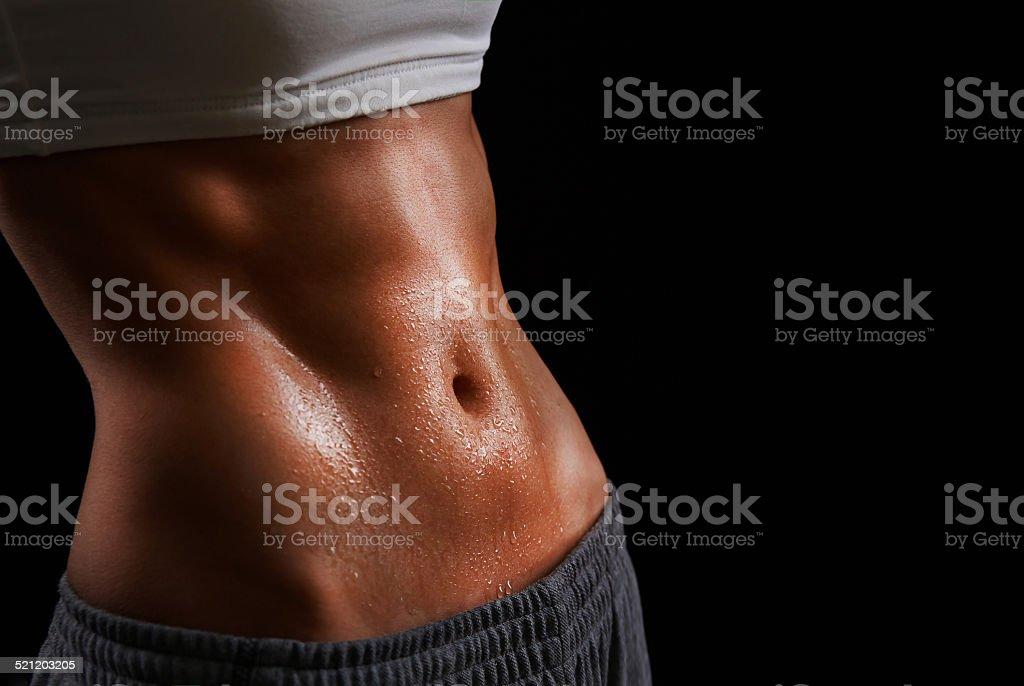 Sweating stock photo