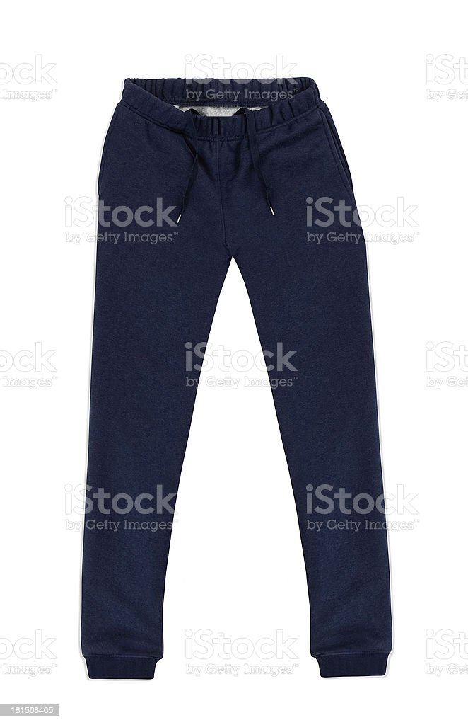 Sweatpants stock photo