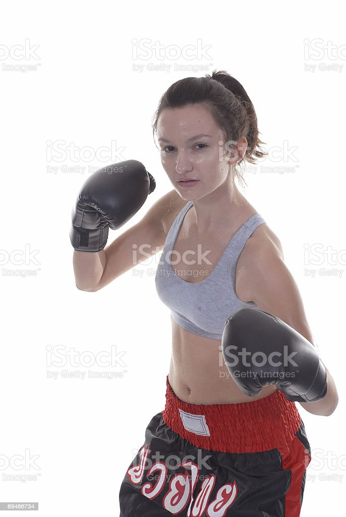 Sweaty position royalty-free stock photo