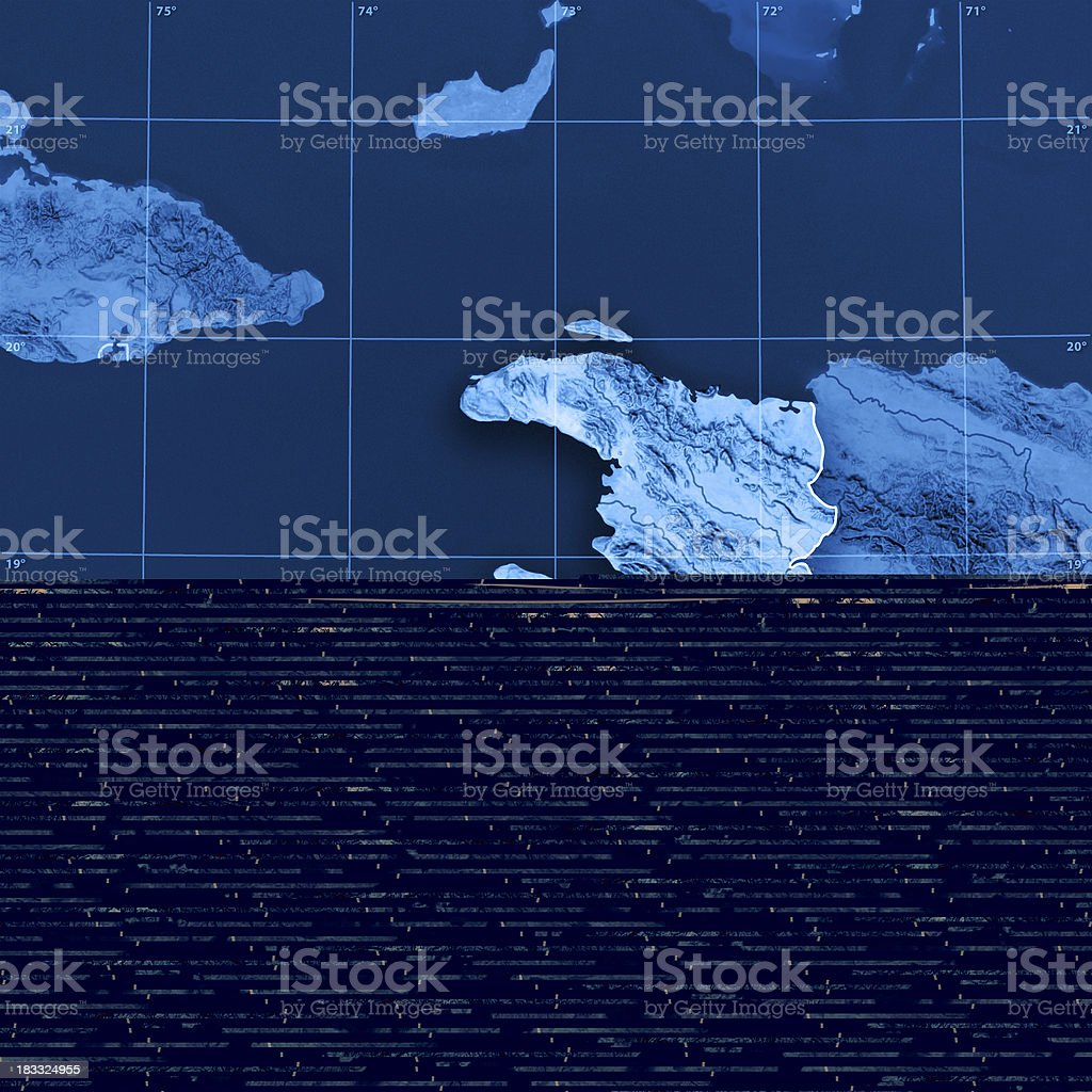 Sweden Cities Topographic Map royalty-free stock photo