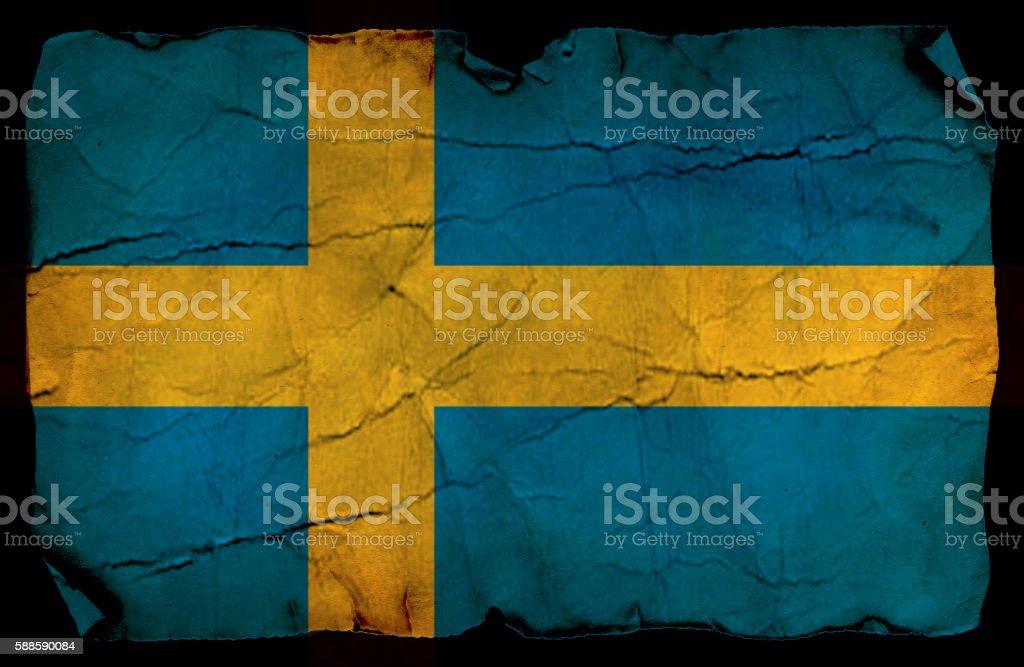 Sweden flag stock photo