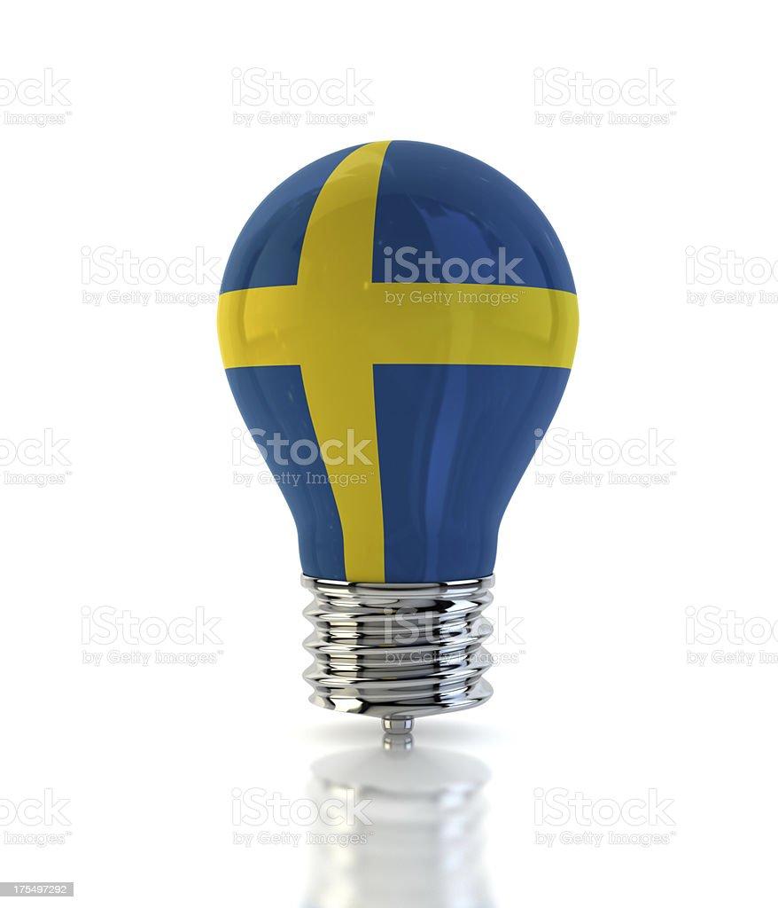 Sweden Light Bulb royalty-free stock photo