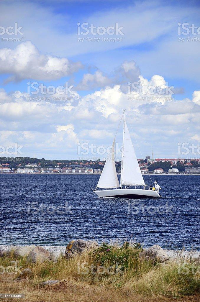 Sweden seascape stock photo