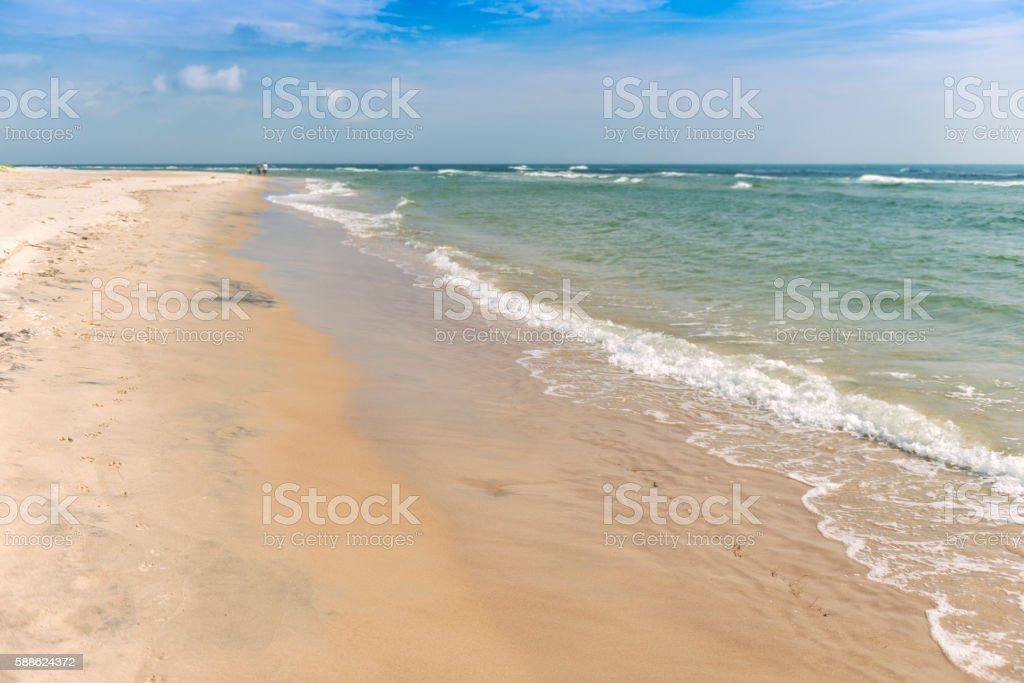 Swedish Beach stock photo