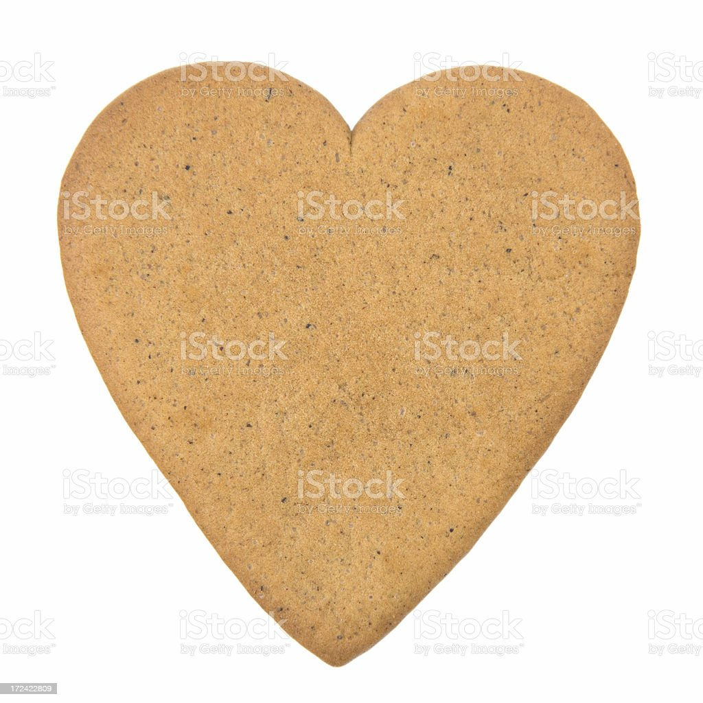 Swedish ginger cookie stock photo
