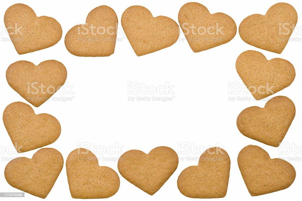 Swedish ginger cookies stock photo