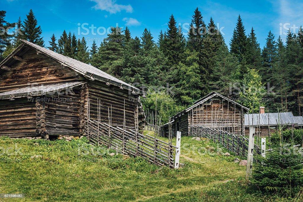 Swedish Hill Farm stock photo