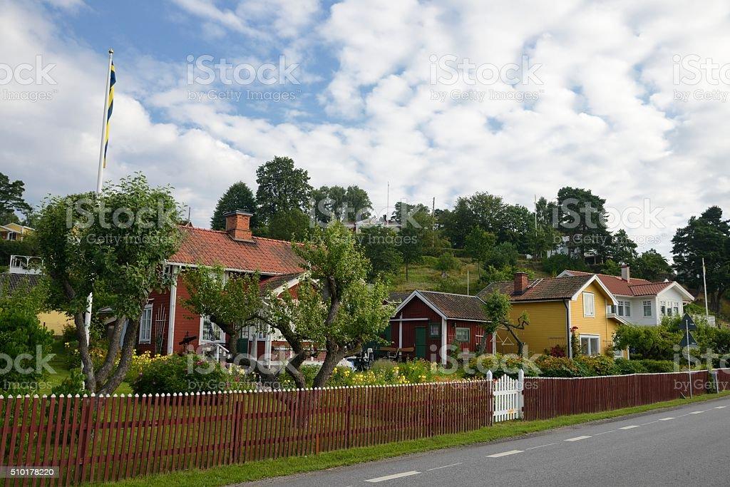 Swedish housing stock photo