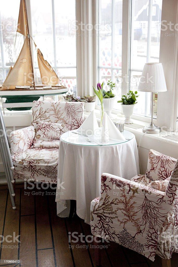 Swedish Interior stock photo