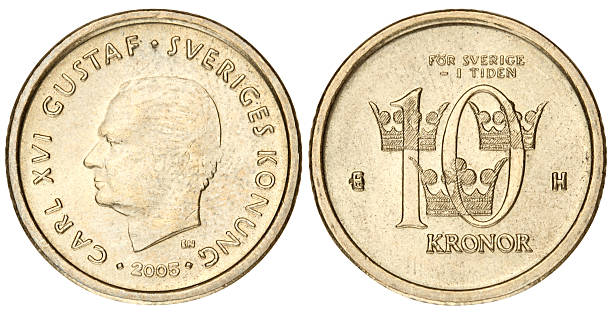 Ten Kroner Coin Pictures Images And Stock Photos Istock