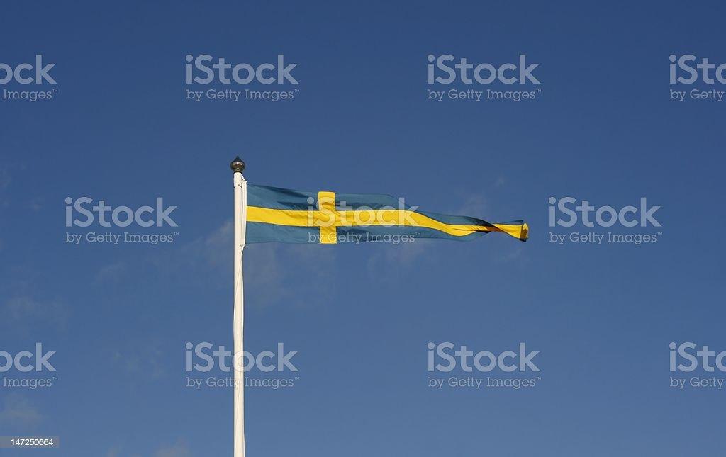 Swedish Pennant royalty-free stock photo
