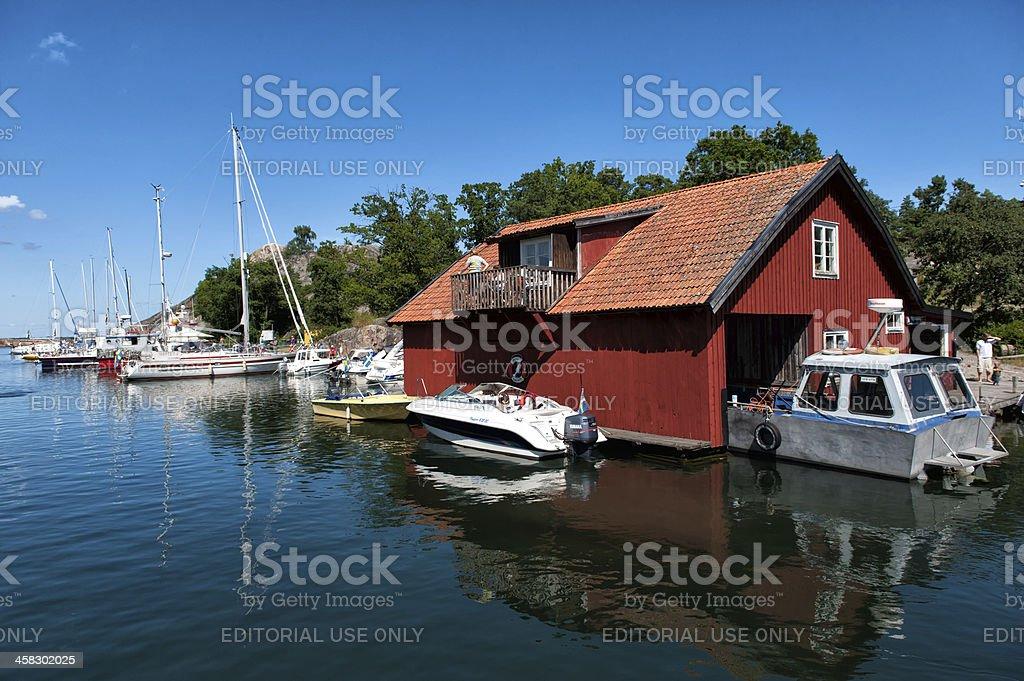 Swedish summer royalty-free stock photo