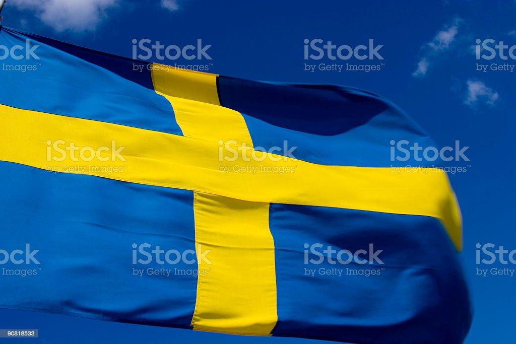 Swedish Symbol stock photo