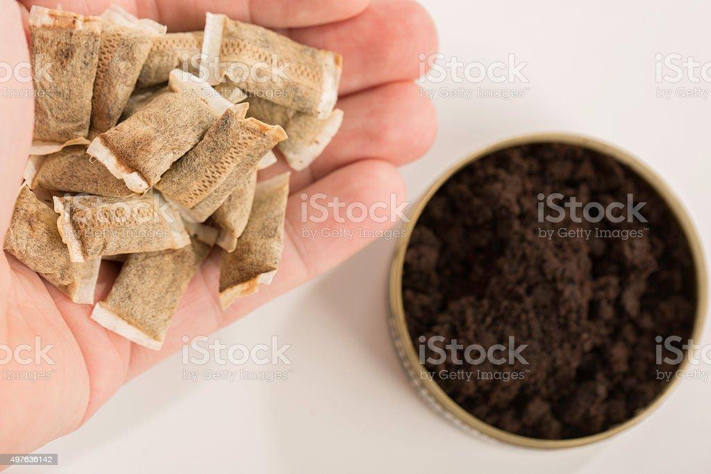 Swedish tobacco stock photo