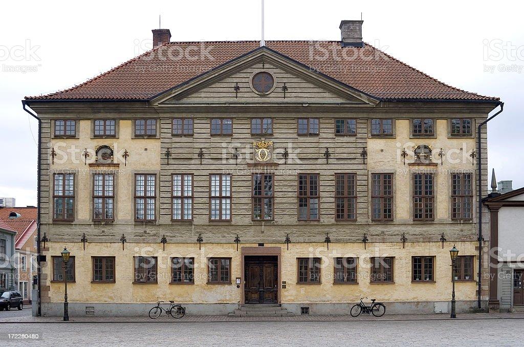 Swedish town hall stock photo