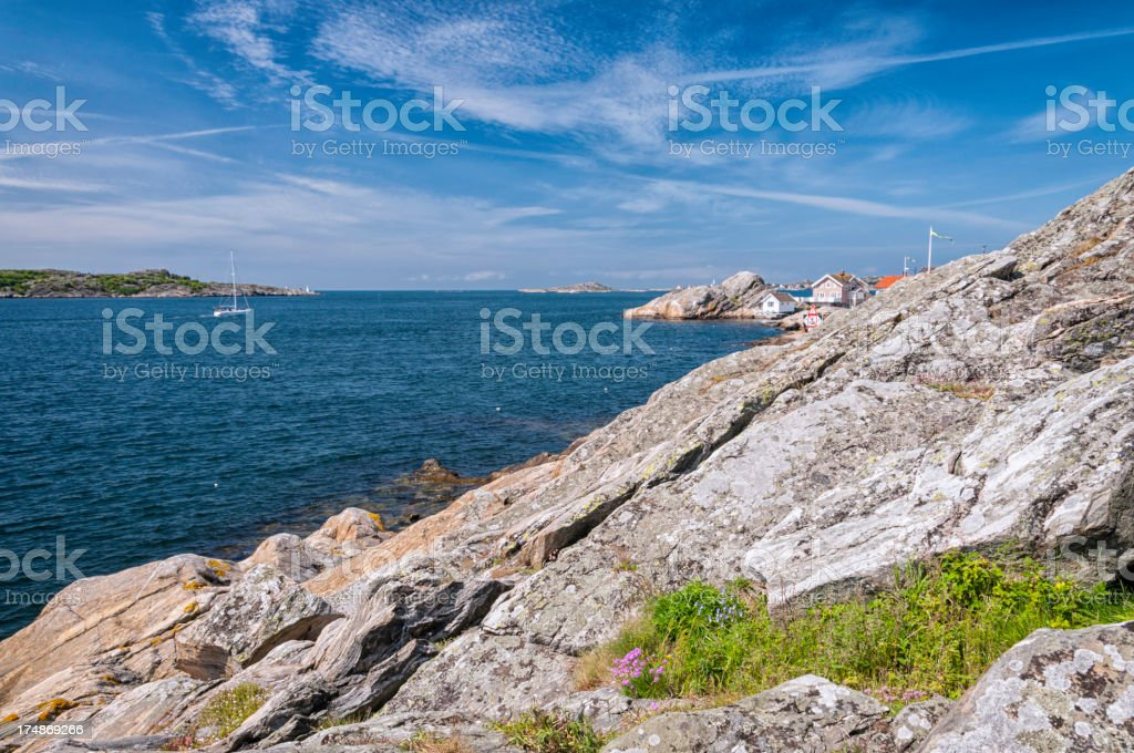 Swedish west coast royalty-free stock photo