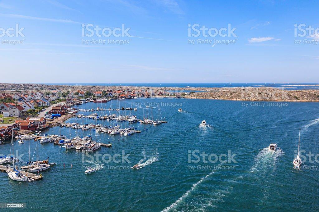 Swedish west coast stock photo
