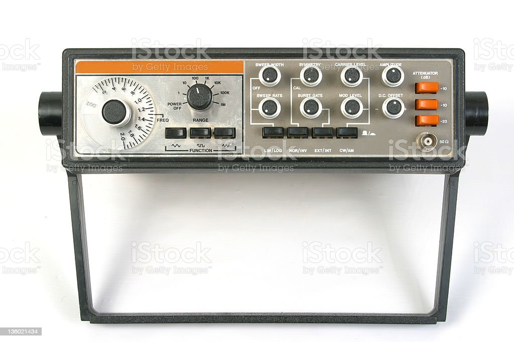 Sweep Function Generator royalty-free stock photo