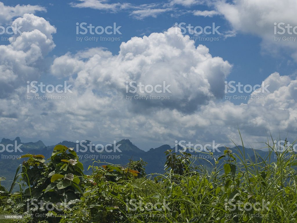 Sweeping clouds royalty-free stock photo