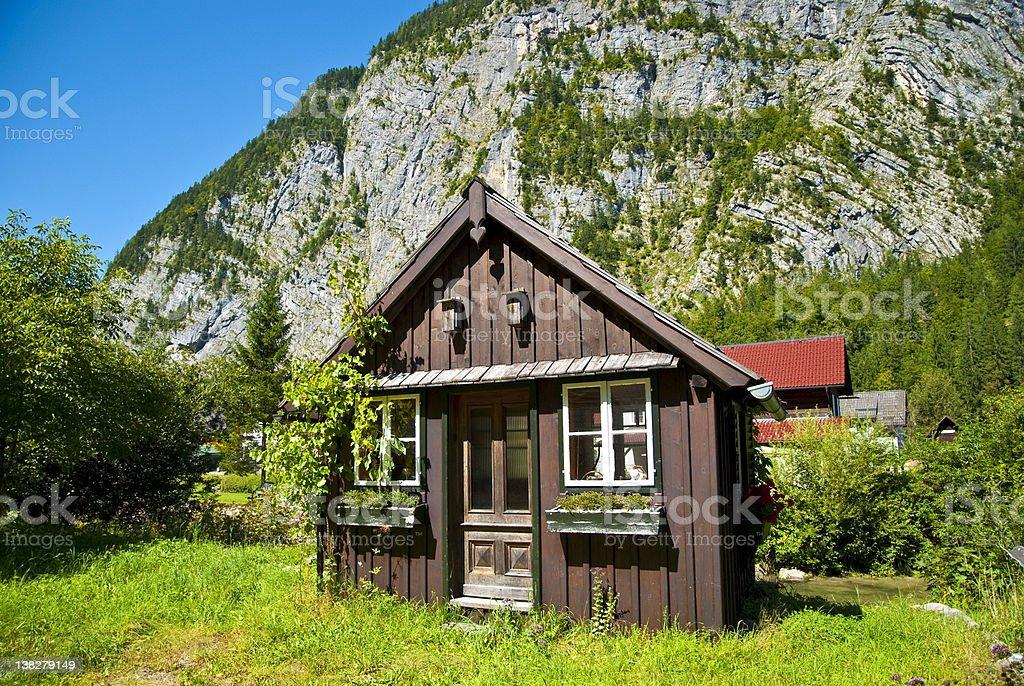 Sweet alpine summer holiday royalty-free stock photo