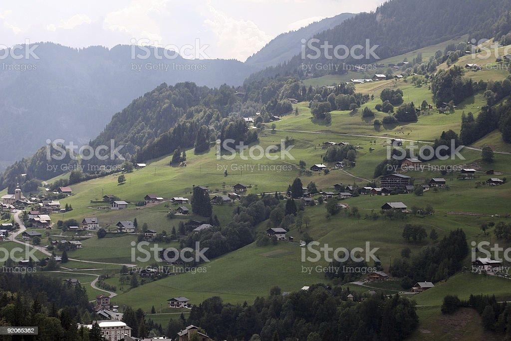Dolce Alpi foto stock royalty-free