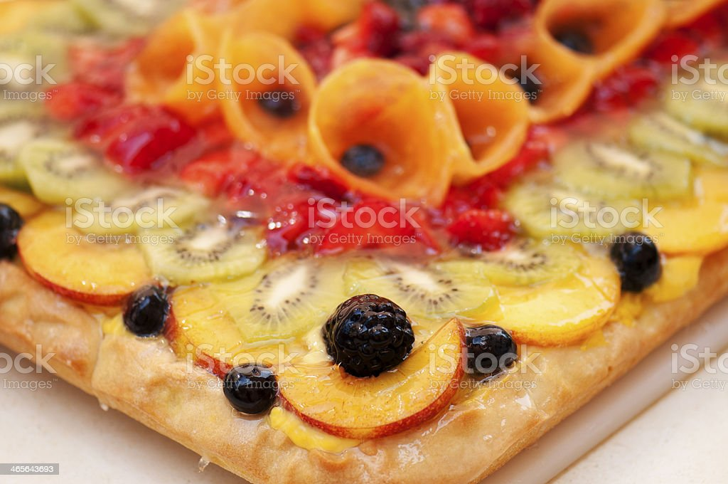 Sweet and fruits royalty-free stock photo