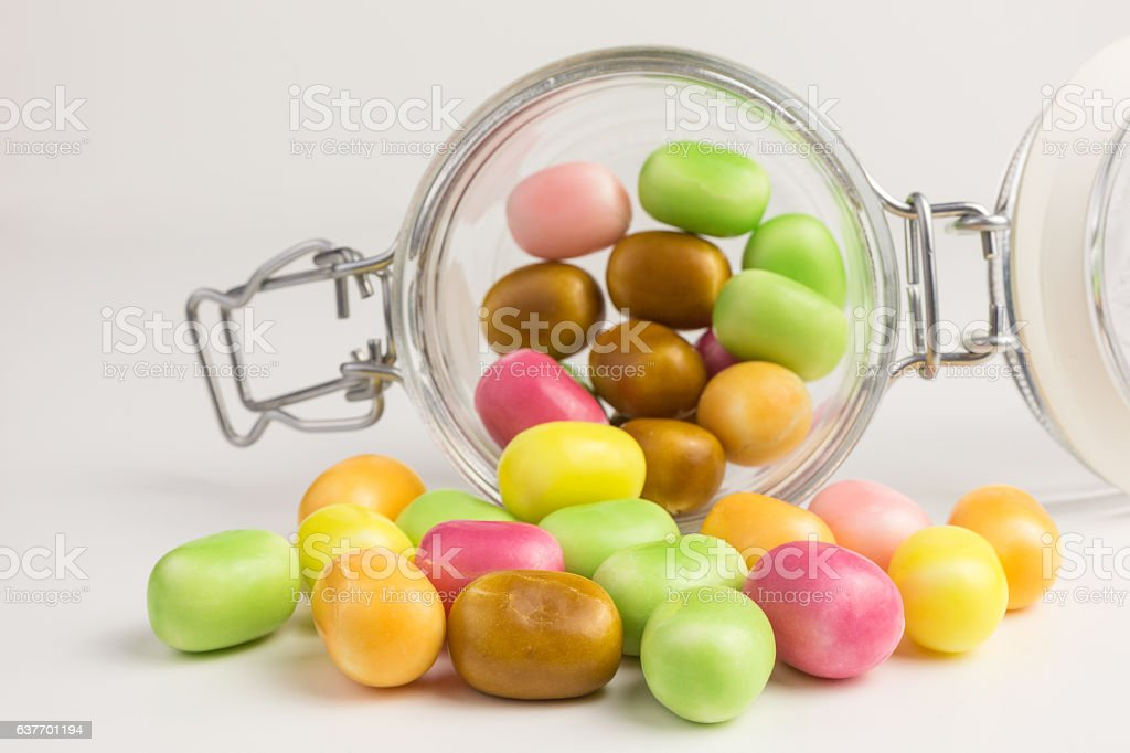 sweet and sour candies stock photo