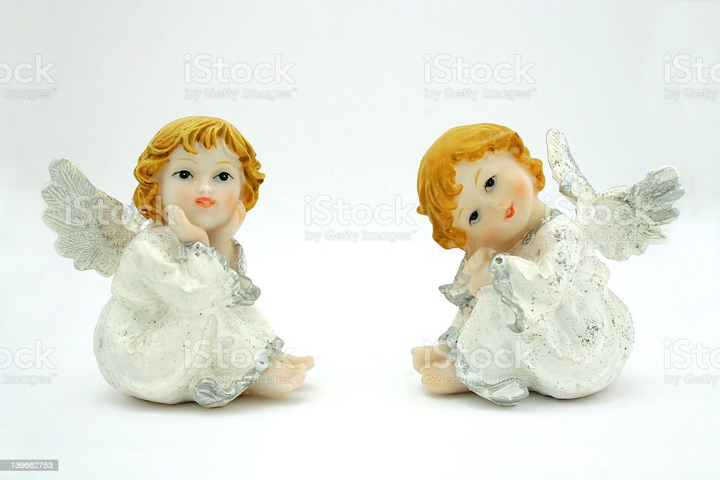 Sweet angel royalty-free stock photo