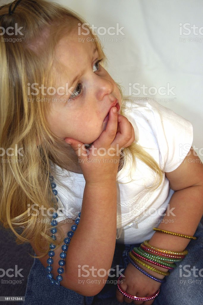 Sweet angel royalty-free stock photo